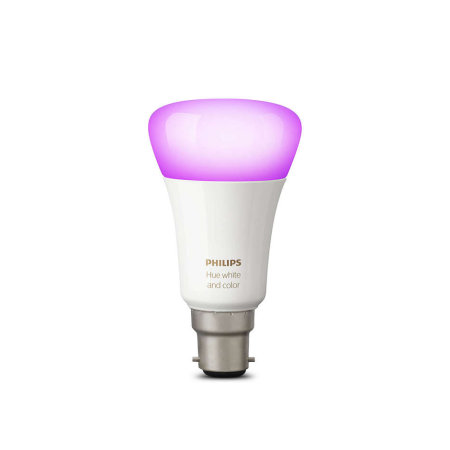 Official Philips Hue Wireless Lighting White and Colour LED Bulb B22