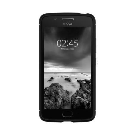 Spigen Rugged Armor Motorola Moto G5 Tough Case - Black