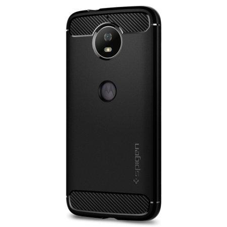 Spigen Rugged Armor Motorola Moto G5S Tough Case - Black