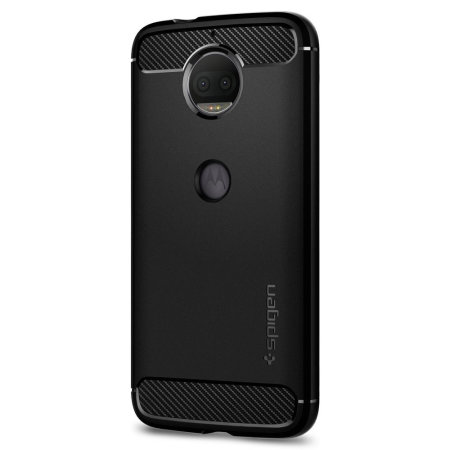 Spigen Rugged Armor Motorola Moto G5S Plus Tough Case - Black