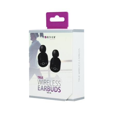 Ecouteurs Bluetooth Forever True TW100 – Noirs