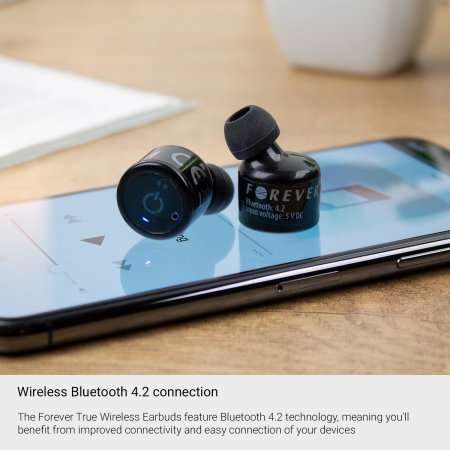 Forever True Wireless Earbuds TW100 - Black