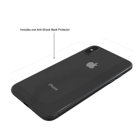 thanotech k11 iphone x protective bumper case - space grey