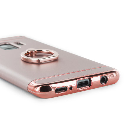 Olixar XRing Samsung Galaxy S9 Finger Loop Case - Rose Gold