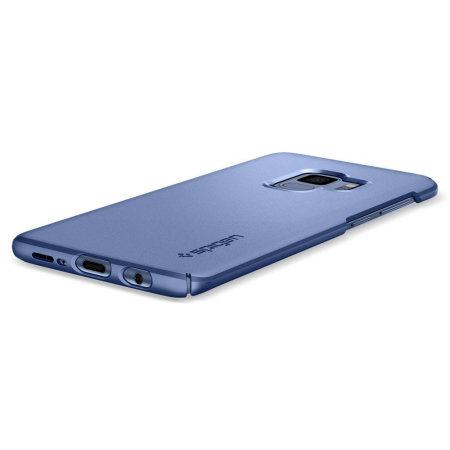 info for 22df6 367e2 Spigen Thin Fit Samsung Galaxy S9 Case - Coral Blue