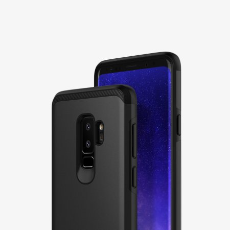 Caseology Legion Series Samsung Galaxy S9 Plus Tough Case - Zwart
