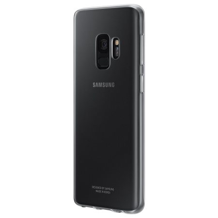 Official Samsung Galaxy S9 Clear Cover Case - 100% Clear