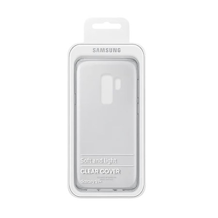 Official Samsung Galaxy S9 Plus Slim Cover Case - 100% Clear