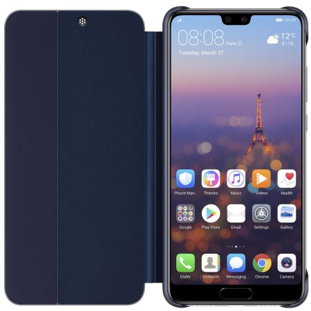Official Huawei P20 Smart View Flip Case - Blue