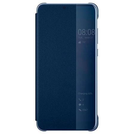 Oryginalne Etui Huawei P20 Smart View - Niebieskie
