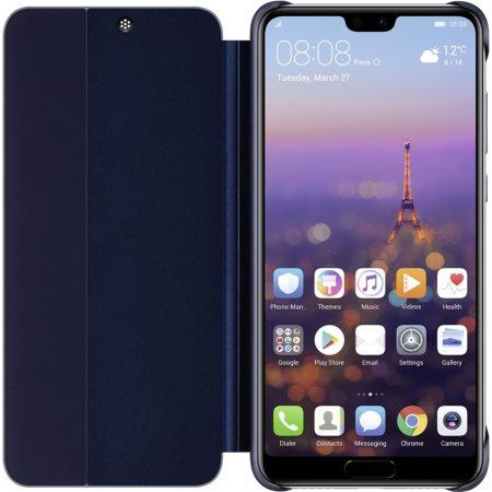 Official Huawei P20 Pro Smart View Flip Case - Blue