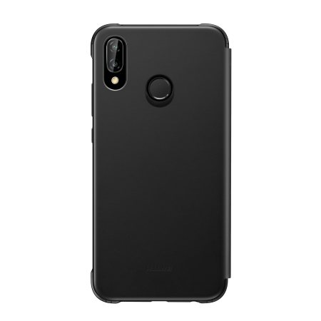 Official Huawei P20 Lite Smart View Flip Case - Black