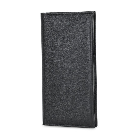 Olixar Primo Genuine Leather Oppo F5 Pouch Wallet Case - Black