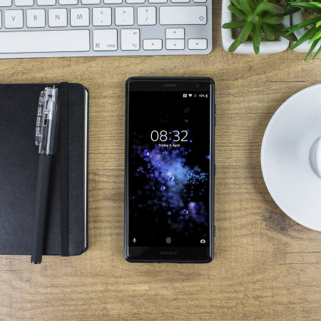 Olixar FlexiShield Sony Xperia XZ2 Gel Case - Solid Black