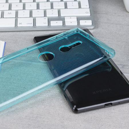Olixar FlexiShield Sony Xperia XZ2 Gel Case - Blue