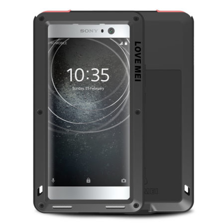 Love Mei Powerful Sony Xperia XA2 Protective Case - Black