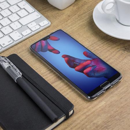 Olixar Ultra-Thin Huawei P20 Case - 100% Clear