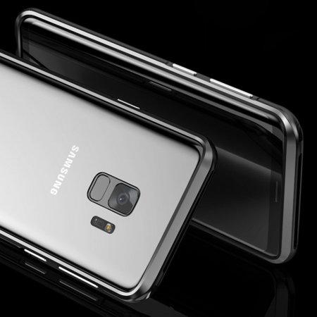 sale retailer 17931 4c4bf Luphie Aluminium Samsung Galaxy S9 Bumper Case - Black