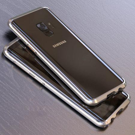 reputable site 43865 667b4 Luphie Aluminium Samsung Galaxy S9 Bumper Case - Silver