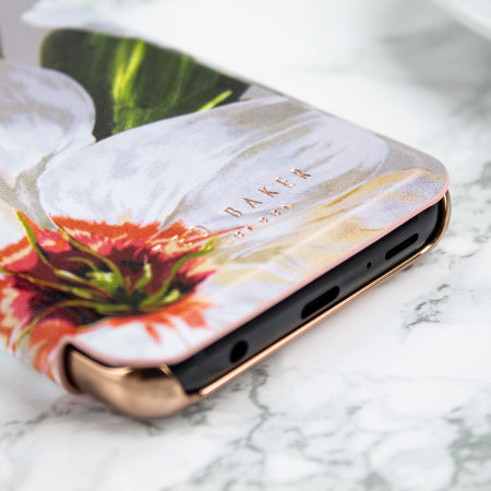 Ted Baker Mirror Folio Samsung Galaxy S9 Case - Chatsworth Bloom