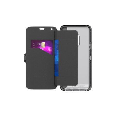 Tech21 Evo Wallet Samsung Galaxy S9 Case - Digital Camo
