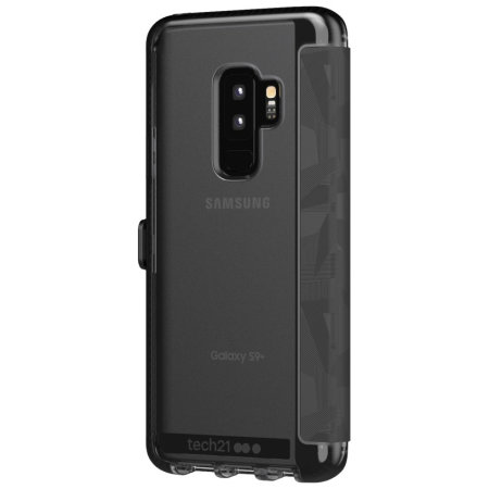 Tech21 Evo Wallet Samsung Galaxy S9 Plus Case - Digital Camo