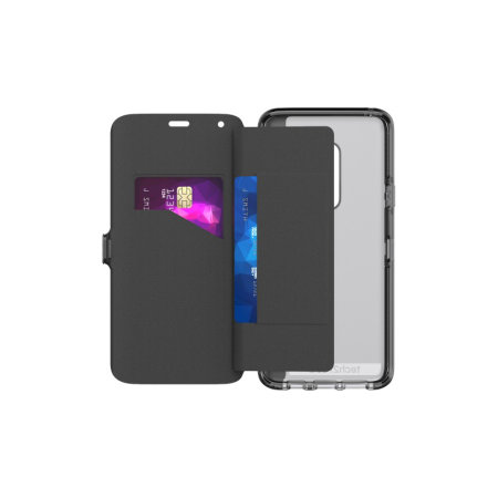 save off 27e69 04ca0 Tech21 Evo Wallet Samsung Galaxy S9 Plus Case - Digital Camo