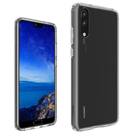 Olixar ExoShield Tough Snap-on Huawei P20 Case - Crystal Clear
