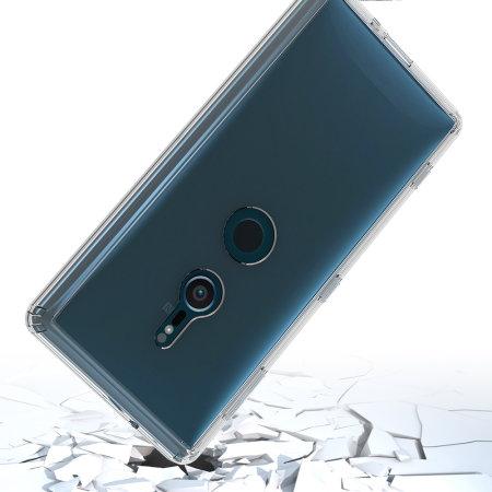 Olixar ExoShield Tough Snap-on Sony Xperia XZ2 Case - Klar