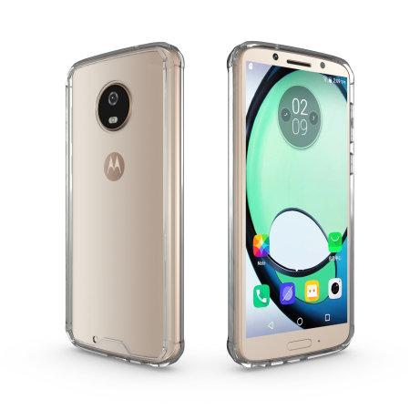 online store 565ea 5a6d5 Olixar ExoShield Tough Snap-on Motorola Moto G6 Case - Crystal Clear