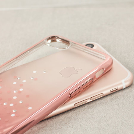iphone case rose gold unique polka 360 iphone 7 gold 7697