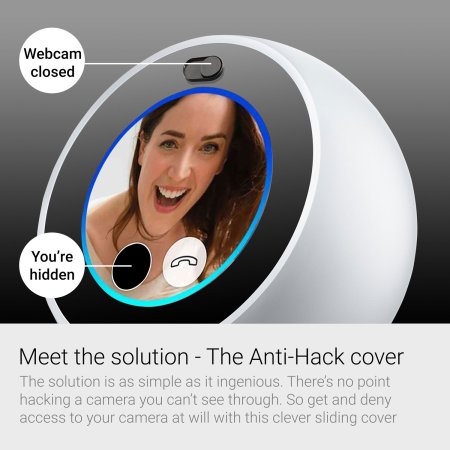 Olixar Amazon Echo Spot Camera Cover - Privacy Slide - 3 Pack