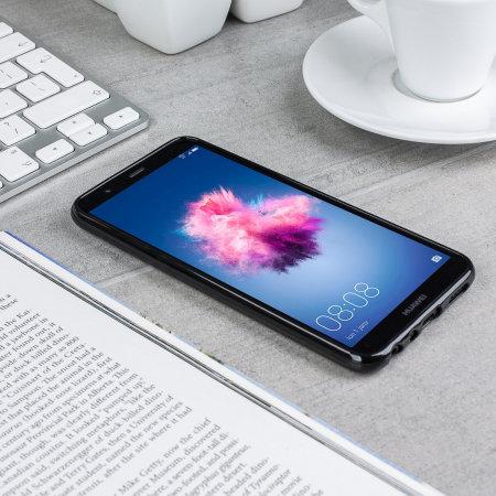 Olixar FlexiShield Huawei P Smart 2018 Gel Case - Solid Black