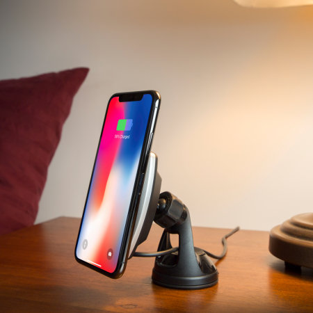 Scosche MagicMount iPhone X Magnetic Holder Wireless Car Charger