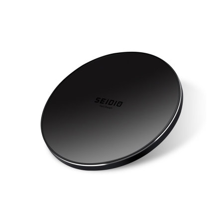 Seidio 10W Qi Fast Wireless Charging Pad - Black