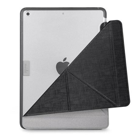 Coque iPad 9.7 2018 Moshi VersaCover Origami-style avec rabat – Noire