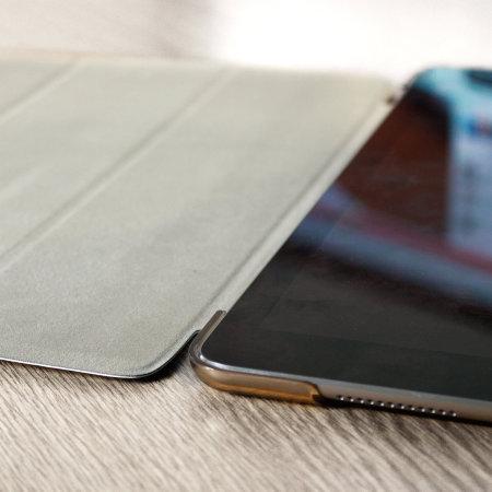 Funda iPad 9.7 2018 Olixar Folding Stand Smart - Oro / Opaca
