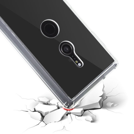 Krusell Kivik Sony Xperia XZ2 Tough Shell Cover Case - 100% Clear