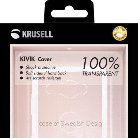 Krusell Kivik Sony Xperia XZ2 Compact Shell Hülle -100% Transparent
