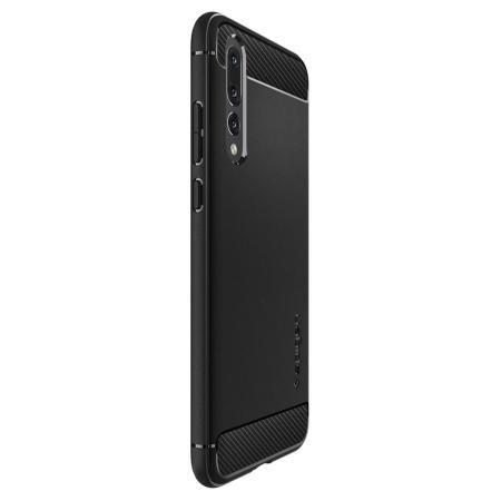 Spigen Rugged Armor Huawei P20 Pro Tough Case - Black