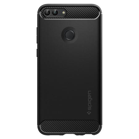 timeless design 034d3 615e4 Spigen Rugged Armor Huawei P Smart Tough Case - Black