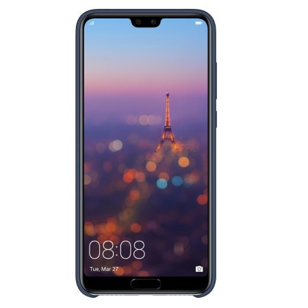 Funda Huawei P20 Pro Official Silicone Case - Azul