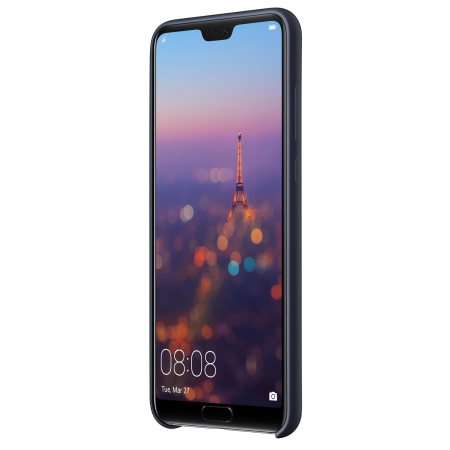 buy popular bbe55 d94e4 Official Huawei P20 Pro Silicone Case - Blue