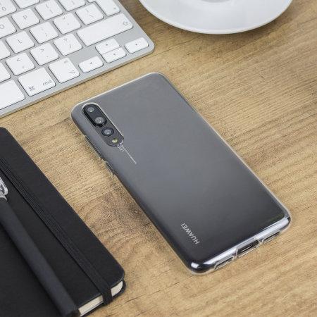 Huawei P20 Pro Gel Case - 100% Clear