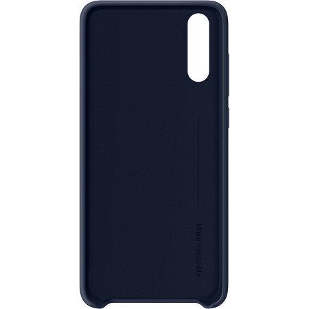 Oryginalne Etui Huawei P20 Silicone Case- Niebieskie