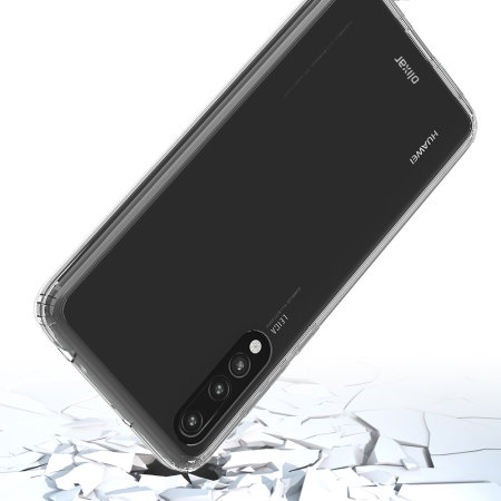 Olixar ExoShield Tough Snap-on Huawei P20 Pro Case - Crystal Clear