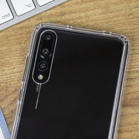 Olixar ExoShield Tough Snap-on Huawei P20 Pro Case - Kristalhelder