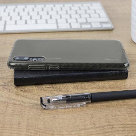 Huawei P20 Pro Gel Case - Smoke Black