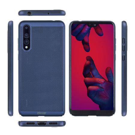 Funda Huawei P20 Pro Olixar MeshTex  - Azul Marino