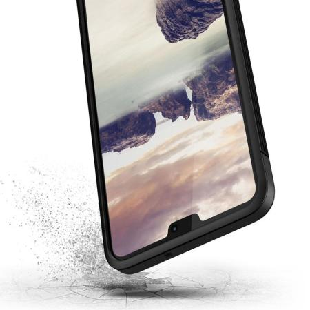 VRS Design Single Fit Huawei P20 Lite Case - Zwart
